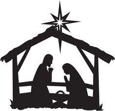 236x228 Nativity Scene Clip Art