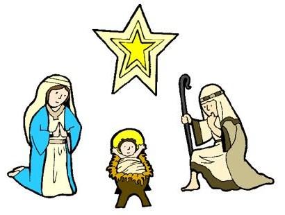 410x310 Nativity Scene Clipart