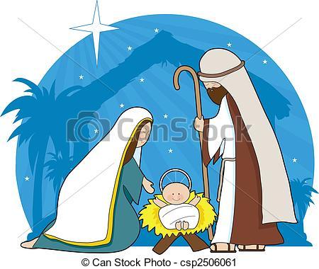 450x380 Top 84 Nativity Scene Clip Art