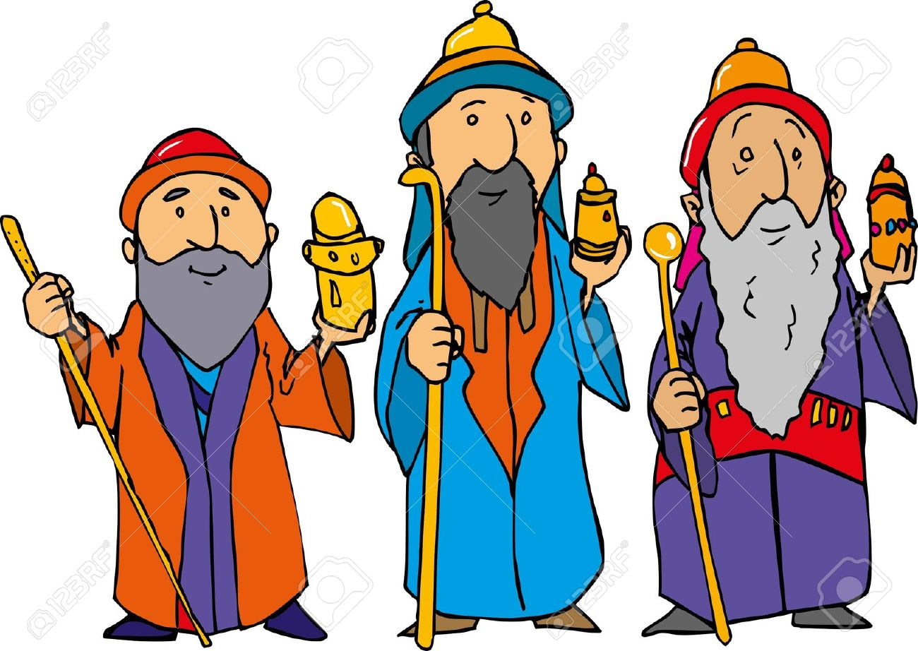1300x922 Wise Men Clip Art