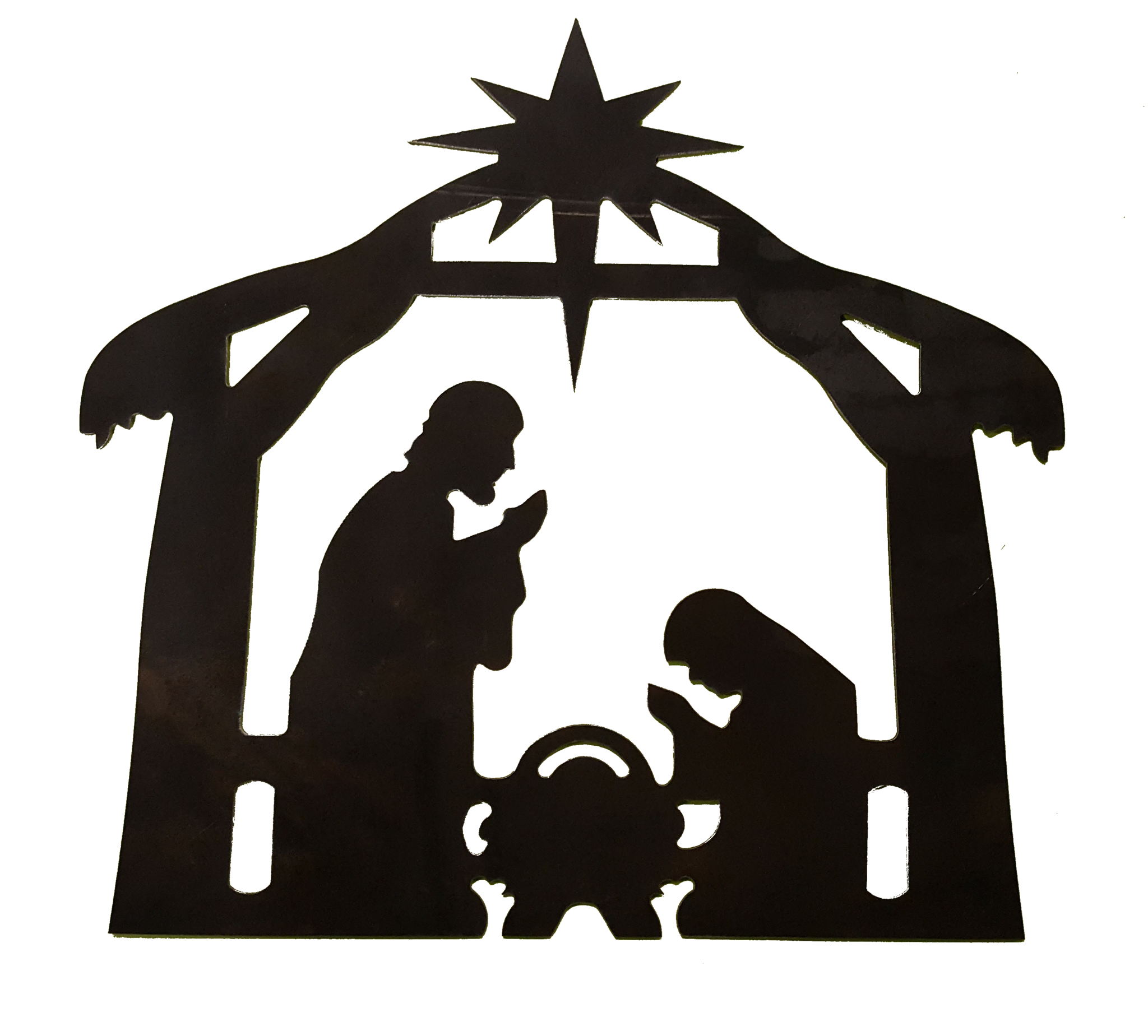 Nativity Scene Clipart Black And White | Free download on ...