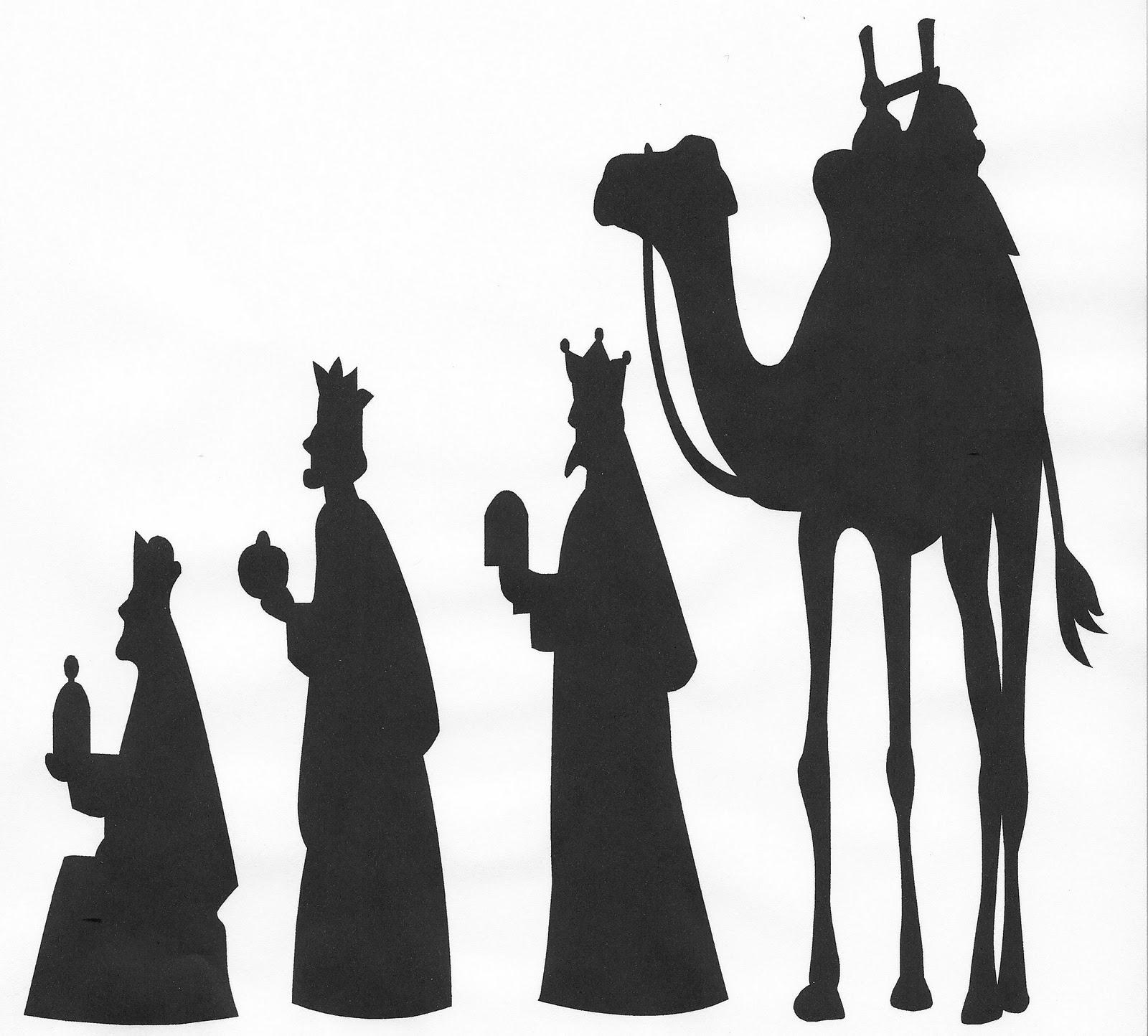 Nativity Scene Clipart Black White | Free download on ...