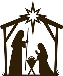 250x300 Simple Clipart Nativity Scene