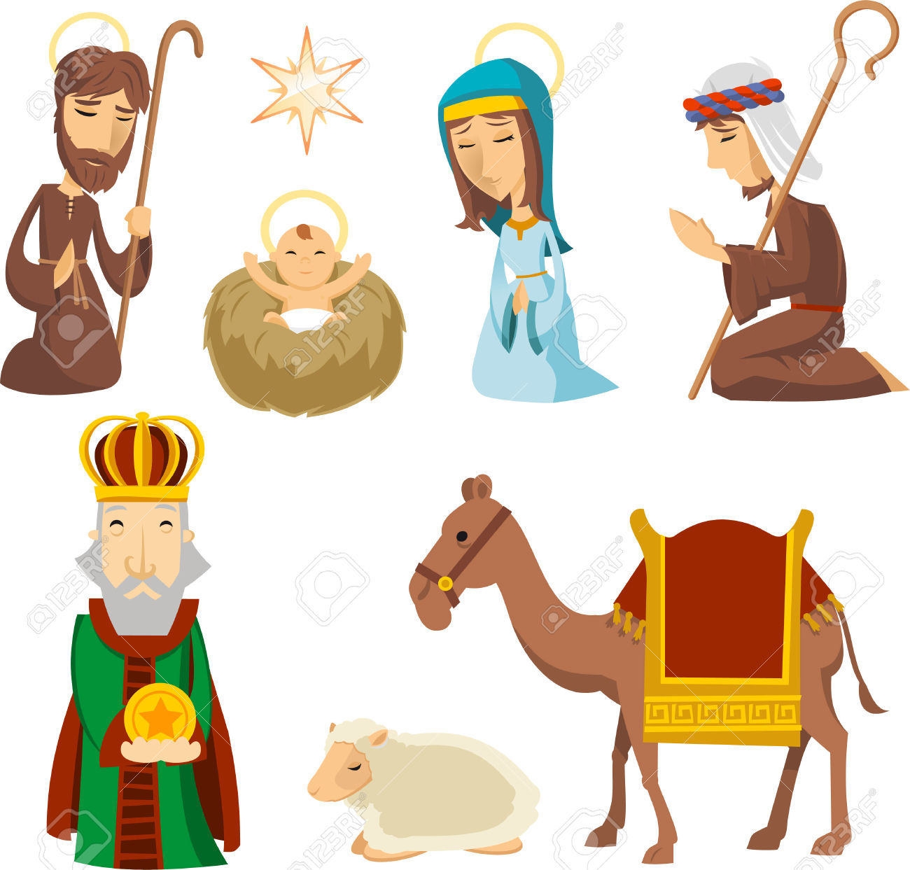 1300x1243 Top 84 Nativity Scene Clip Art