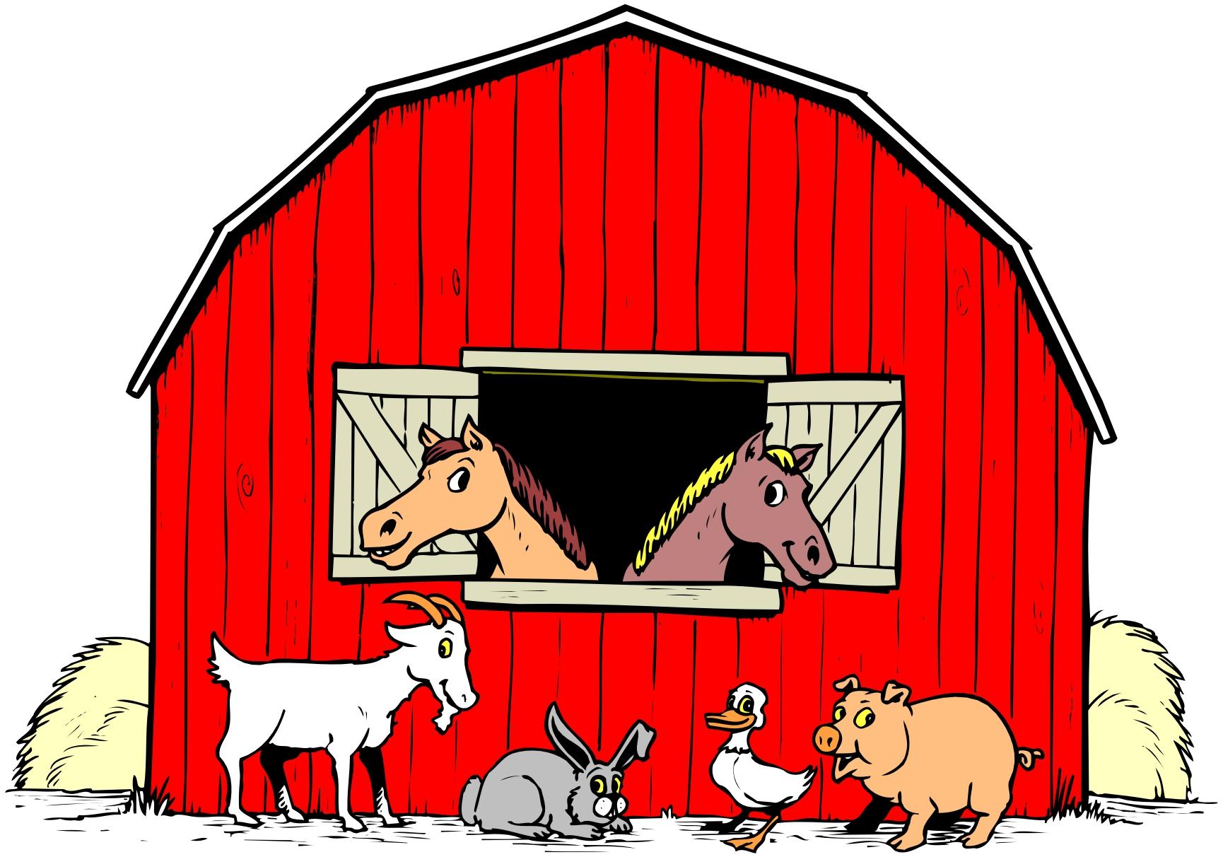 1730x1212 Farm Clipart School Scene