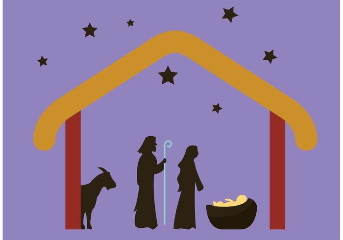 700x490 Manger Scene Nativity Scene
