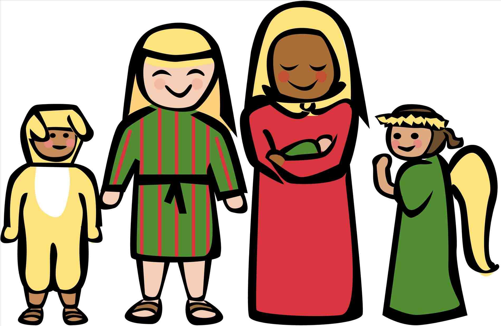 1899x1237 Christmas Clip Art Scene Xtras Story Story Free Nativity Christmas