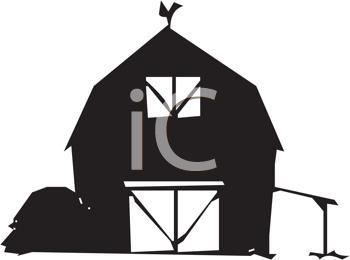 350x260 Royalty Free Barn Clip Art, Farm Buildings Clipart