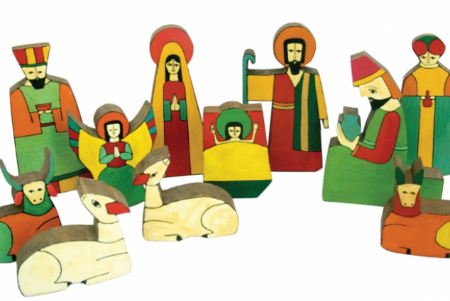 634x425 A Nativity Collection Shows How Different Cultures Imagine