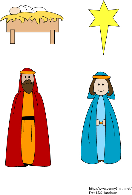 442x655 Lds Clipart Nativity