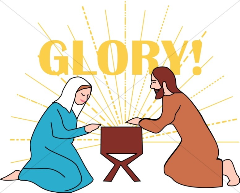 776x623 Nativity Scene In The Stable Manger Clipart