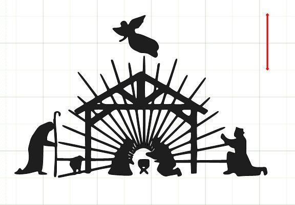 nativity silhouette patterns