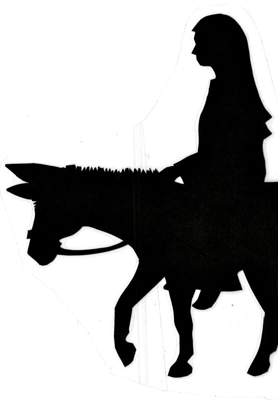 570x820 Christmas Story Shadow Puppets Pattern Download