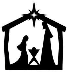 236x247 Free Outdoor Nativity Scene Pattern Downloadable Embroidery