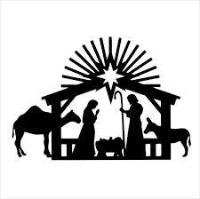 225x224 Resultado De Imagem Para Christmas Silhouettes Natal