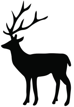 236x343 Stag Silhouette Cool Cute Ideas Cute Ideas