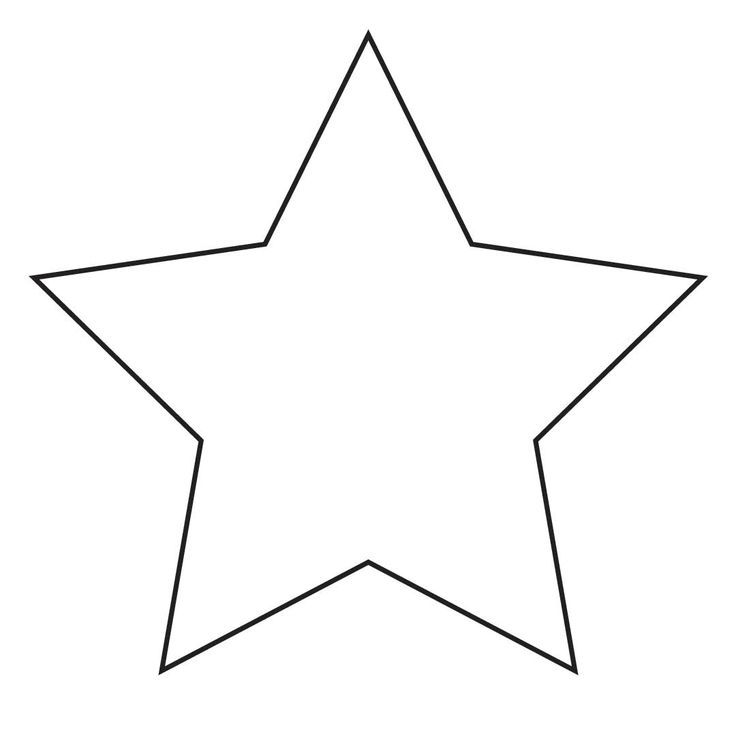 736x736 Image Of Star Clipart Black And White