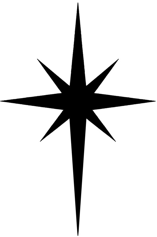 530x799 Christmas North Star Clipart