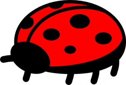 425x286 Peterm Ladybug Clip Art Vector, Free Vector Images