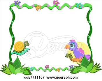 350x278 Nature Clipart Nature Frame