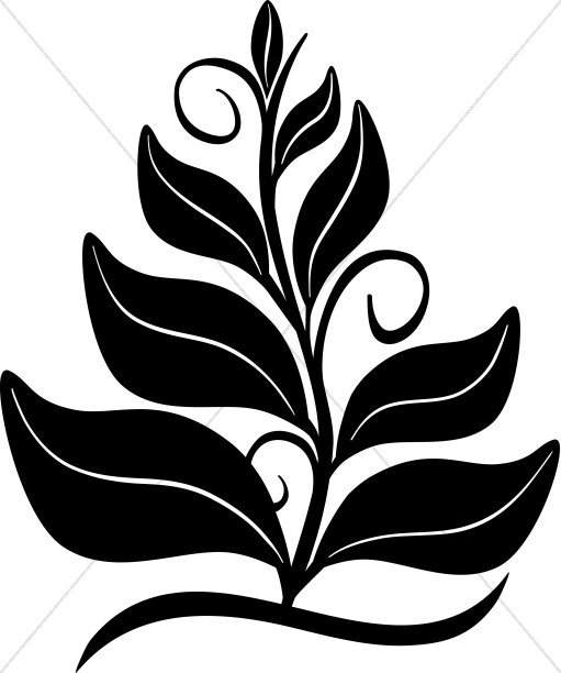 511x612 Growing In The Spirit Black And White Clipart Nature Clipart