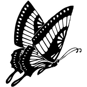 300x300 Nature Clipart Black And White Collection