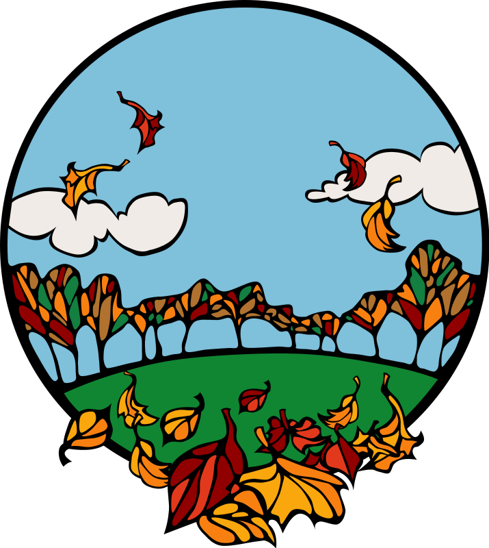 715x800 Fall And Autumn Clipart Seasonal Graphics