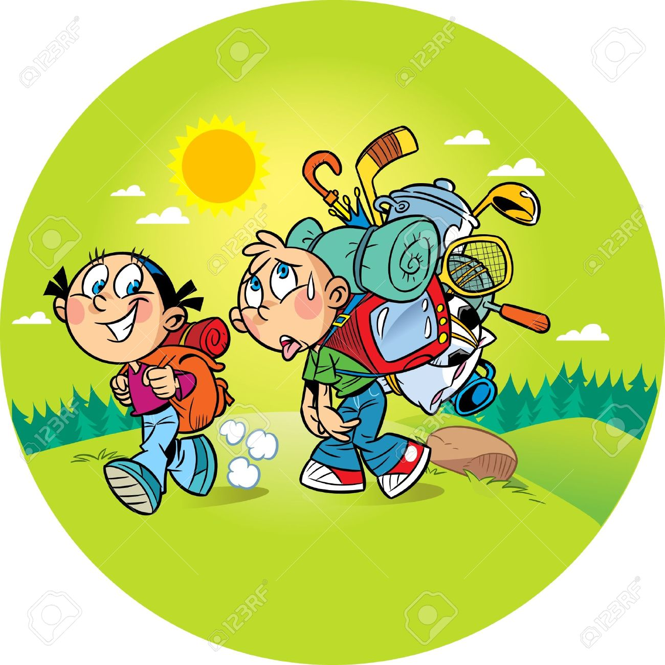 1300x1300 Camp Clipart Nature Hike
