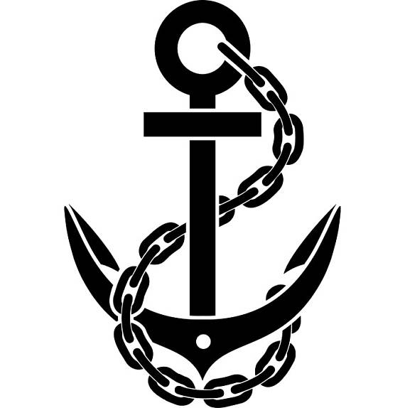 570x574 Anchor 1 Chain Ship Boat Nautical Marine Sailing Sea Ocean