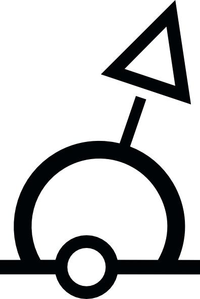 396x592 Nautical Symbolternational Sphere Buoy Clip Art Free Vector