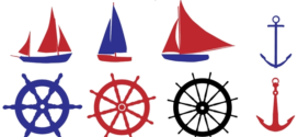 272x125 Nautical Clip Art Free Clipart Collection On Free Nautical Clip