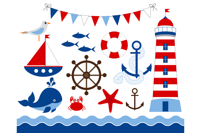 800x532 Bunting Clipart Nautical