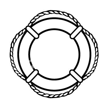 Nautical Clipart Black And White