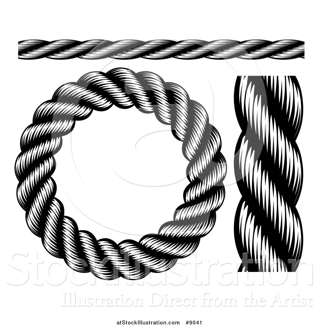 1024x1044 Vector Illustration Of Black And White Woodcut Or Engraved