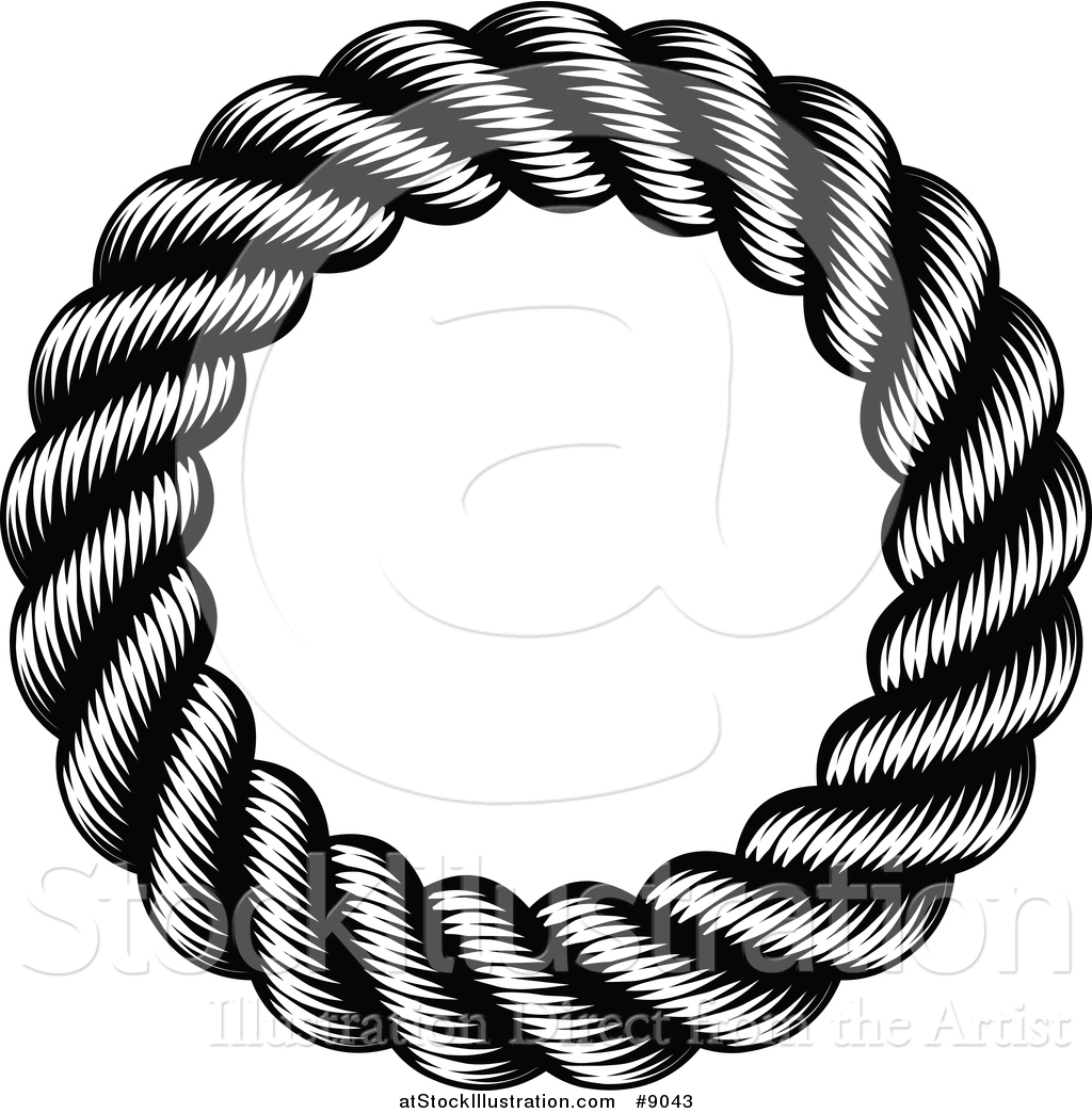 1024x1044 Vector Illustration Of A Black And White Woodcut Or Engraved Round