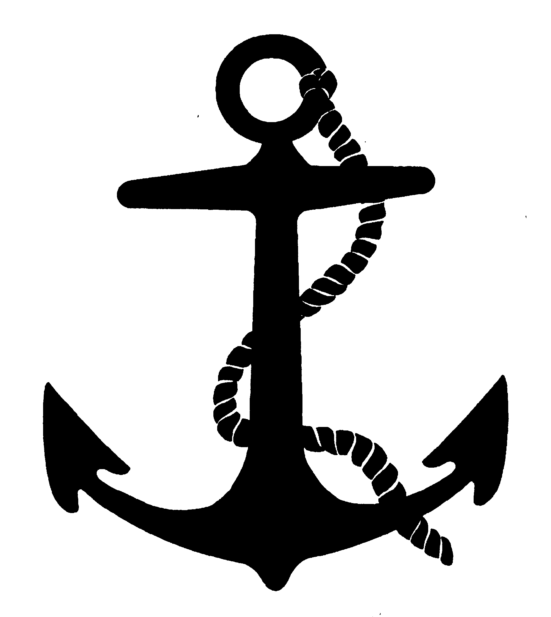1880x2107 Black And White Anchor