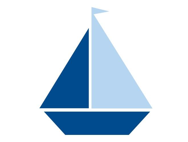 660x500 Image Of Blue Sailboat Clipart Navy Sailboat Clip Art