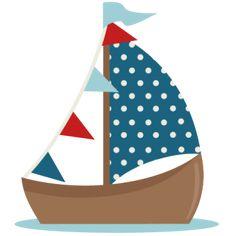 236x236 Nautical Boat Clip Art