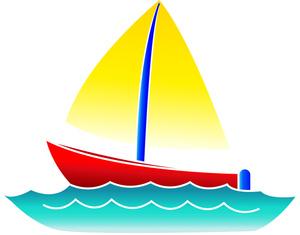 300x235 Sail Boat Clip Art