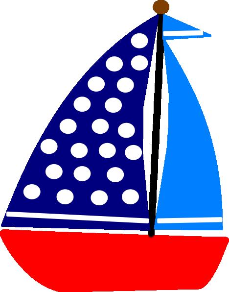468x596 Sail Boat Clip Art
