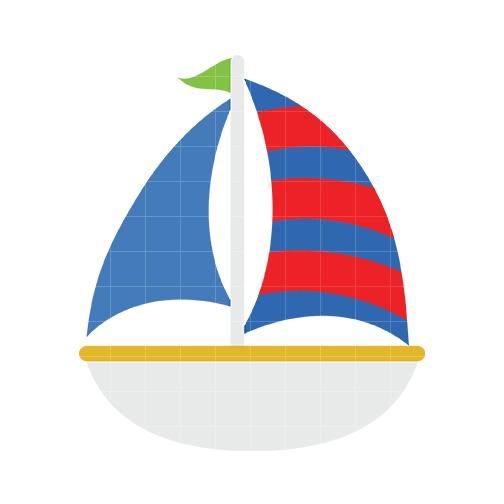 504x504 Sailboat 4 Clip Art Barcos Clip Art