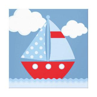 324x324 Sailboat Wrapped Canvas Prints Zazzle