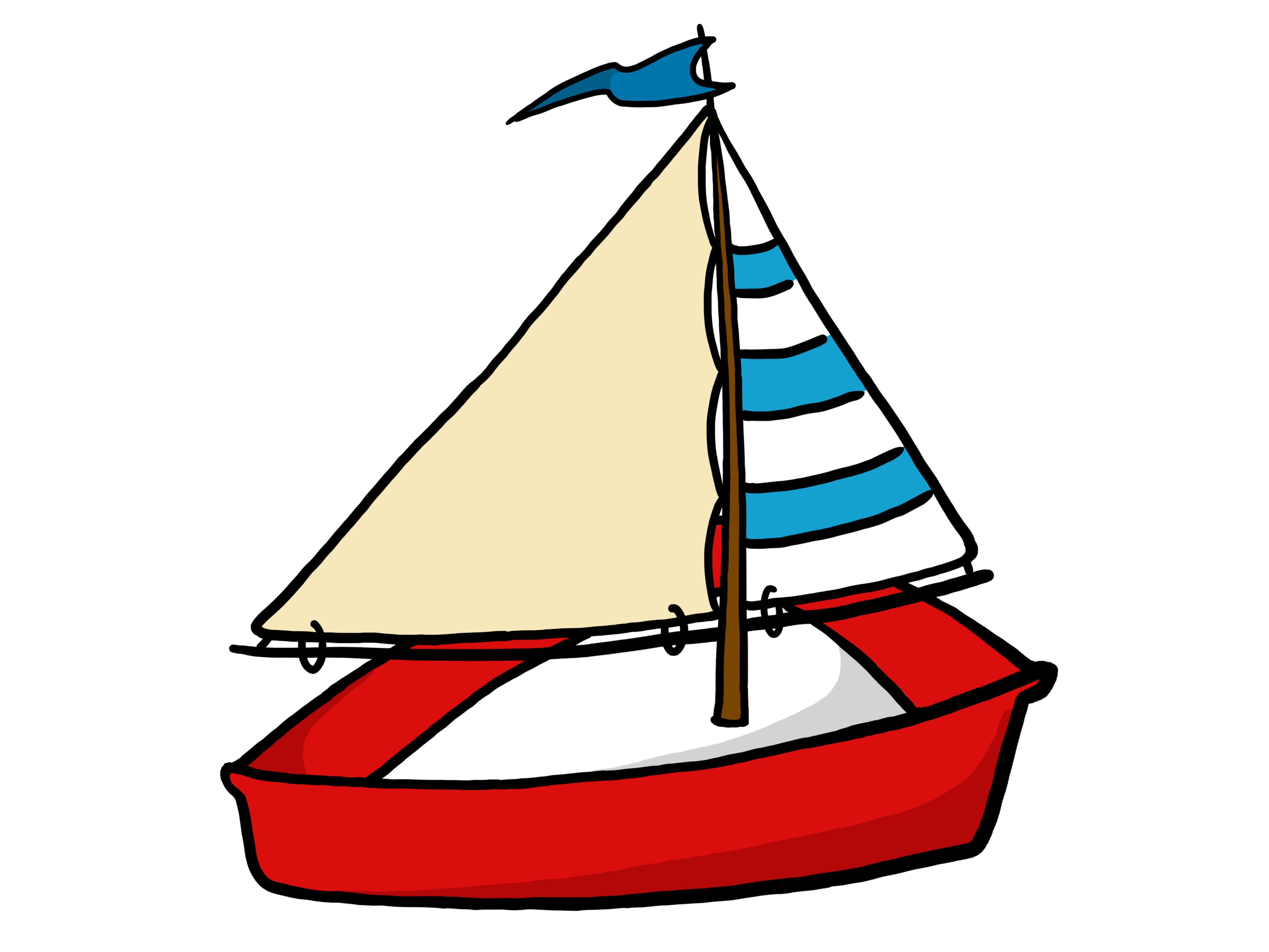 Nautical Sailboat Clipart | Free download best Nautical Sailboat ...