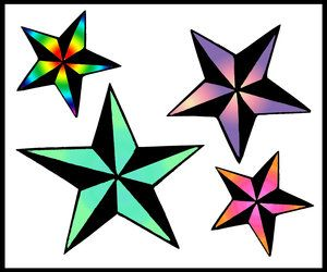 300x250 345 Best Stars! Images Draw, Stars And Geishas