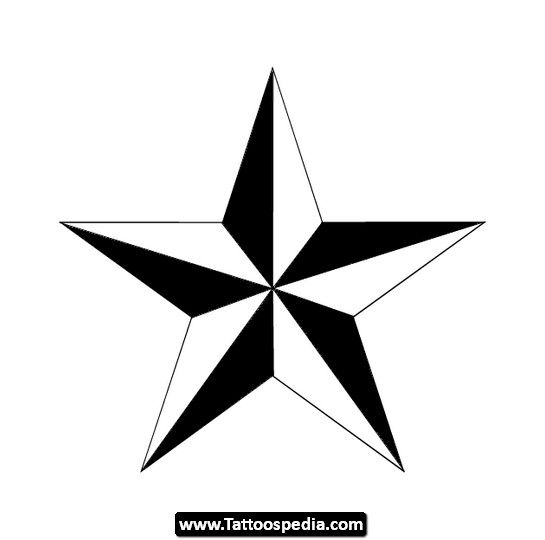 545x540 52 Best Nautical Star Elbow Tattoo Images Arm
