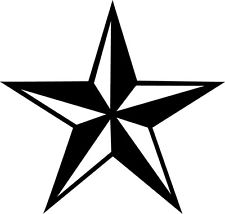 225x214 Large Nautical Star Decal Ebay