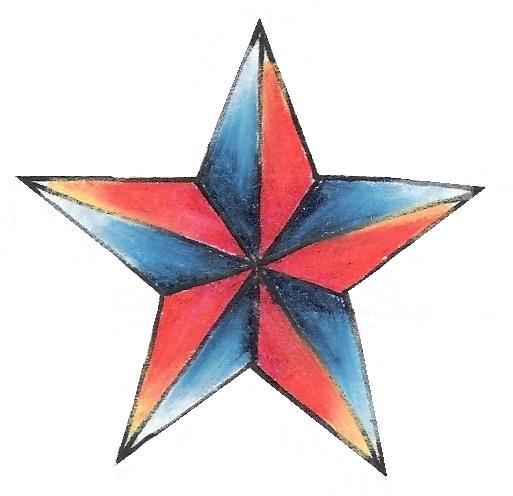513x496 Nautical Star Tattoo Ideas Cheryl Cole Buzz