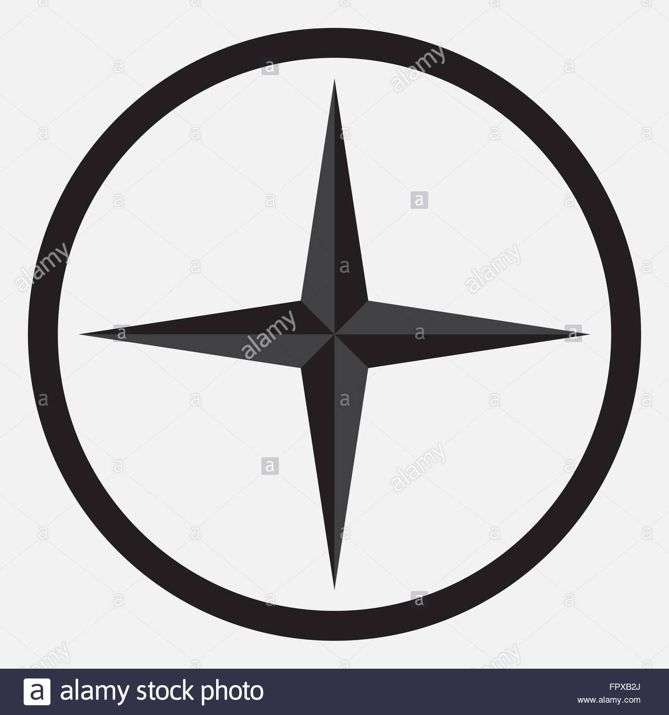 1300x1390 Compass Star Icon Monochrome Black White. Compass And Star