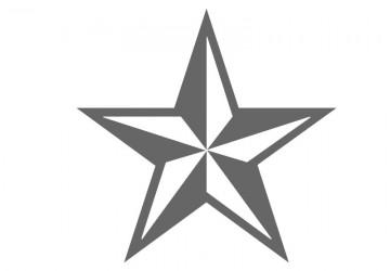360x250 Star Stencil Shapes