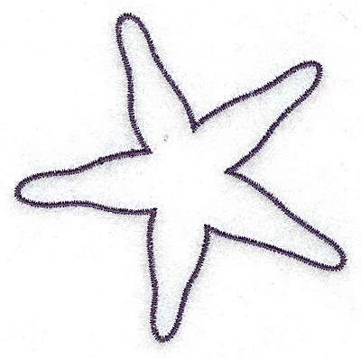 400x397 Starfish Outline Smallltbrgt 2.85w X 2.87h, John Deer's Adorable